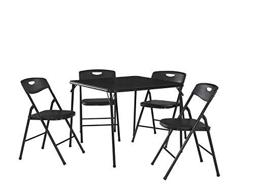 Cosco Products Set de Mesa Plegable y sillas, 5 Piezas
