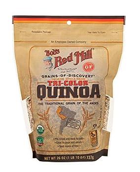 Bob s Red Mill Organic Tri-Color Quinoa Grain 26 Oz