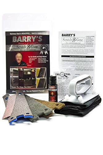 Barry's Restore It All Products - Scratch-B-Gone Homeowner Kit | The #1 selling kit used to remove scratches, rust, discoloration and more from Stainless Steel!