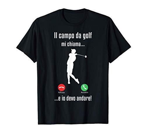 Uomo Golf Sport Regali Per Golfisti Il Campo Da Golf Chiama Maglietta