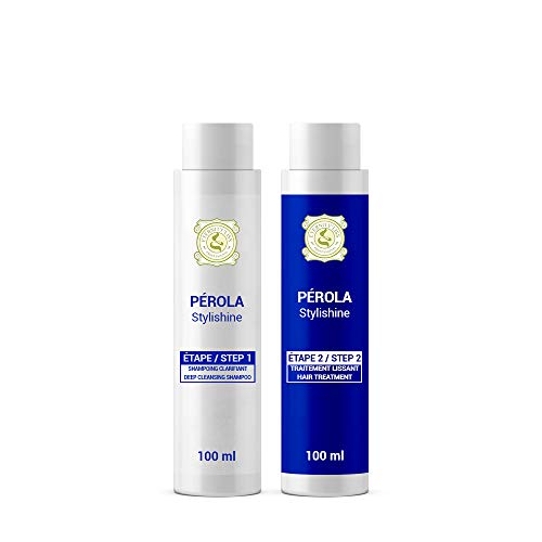 Perola Eternity Liss Haarglättungsmittel aus Brasilien, 2 x 100 ml