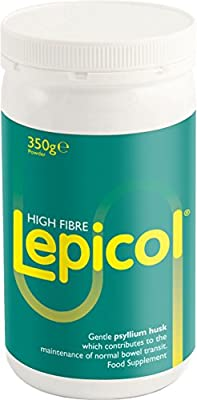 Lepicol Original 3in1 Formulation – Contains Psyllium Husk, Inulin and 5 Strains of Live Bacteria – 350g Powder