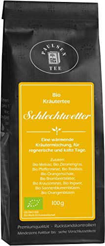 Paulsen Bio Kräutertee Schlechtwetter 100g (44,90 Euro / kg)