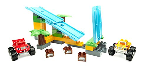 Mega Bloks Blaze & the Monster Machines, Jungle Ramp Rush