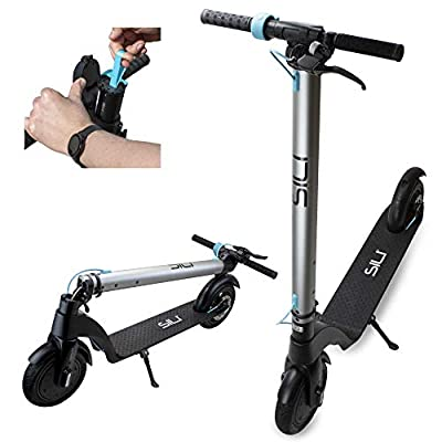 """SILI® Ryder 36v Foldable Electric Scooter with 6.4Ah Panasonic Removable Battery. Powerful 350W 8.5"""" Front Motor, Top Speeds of 20Mph (limited to 15mph for UK)"""