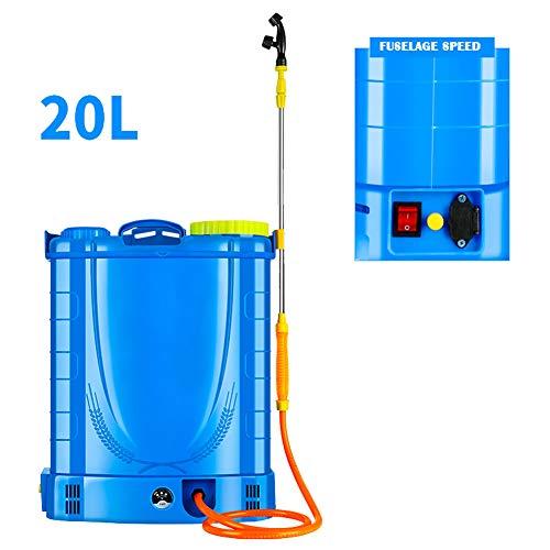 JTYDFG Mochila Pulverizador, Ressure Sprayer Knapsack fumigador de jardín Pesticidas eléctricos 16L...