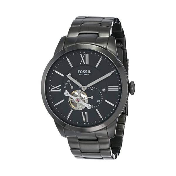 Fossil Men's Townsman Stainless Steel Mechanical Automatic Watch