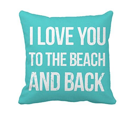 Coastal decor pillow