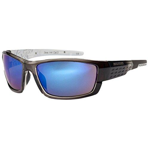 Bloc Eyewear Unisex Delta Sport-Sonnenbrille, Schwarz, Einheitsgröße
