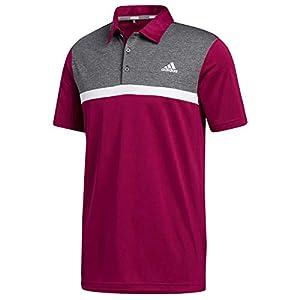 Three-button polo collar UV 50+ factor Golf polo shirt Regular fit 100% recycled polyester piqué