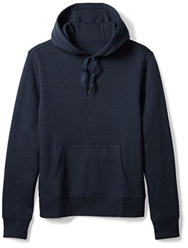 Amazon Essentials Men's Hooded Fleece Sweatshirt, Navy, X-Large