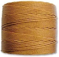 S-Lon Beading Cord unisex - Gold Soldering 77yd By Spool Staine Stallings Per