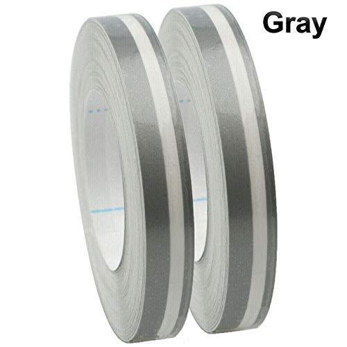 Jabtraxx 2 unidades de cinta universal para coche, doble línea, cinta adhesiva de vinilo para pegatinas