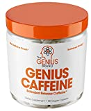 Genius Caffeine, Extended Release Microencapsulated Caffeine Pills, All Natural...
