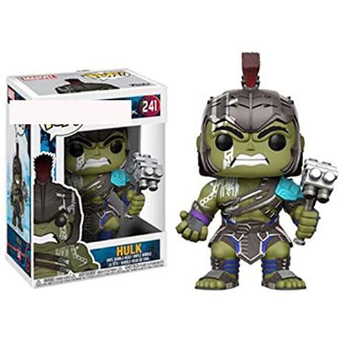 Pop Figures Ragnarok Hulk Pop Thor Superman 10Cm, Q Version Shaking His Head With Box Vinyl Model Toys For Children Gift