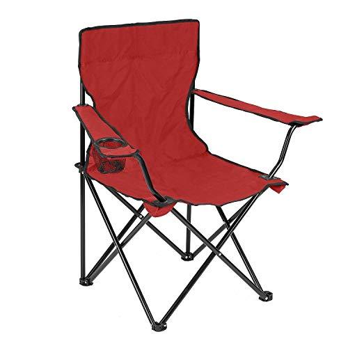 Wolblix Silla de camping plegable grande, bolsa de transporte portátil para almacenamiento y viaje/silla de playa al aire libre
