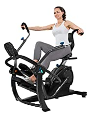 ZERO IMPACT EXERCISE: Ideal for all fitness levels, the comfortable and naturally-reclined seated position reduces body fatigue and eliminates the stress on the joints and back while still delivering a full fat-burning cardio workout. WHISPER-QUIET, ...