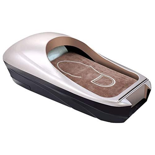 ZouYongKang Botines de zapato Cubierta de zapato desechable Máquina de la cubierta de zapatos automática Dispensador de la cubierta de zapatos 600 PCS Cubiertas de plástico desechables Bolsas Cubierta