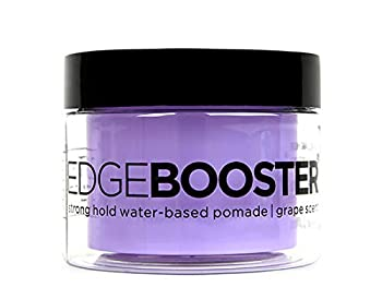 Style Factor Edge Booster Strong Hold Water-Based Pomade 3.38oz - Grape Scent