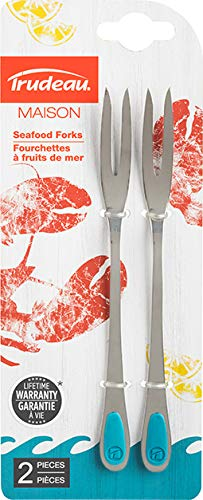 Trudeau Seafood Forks, One Size, Tropical