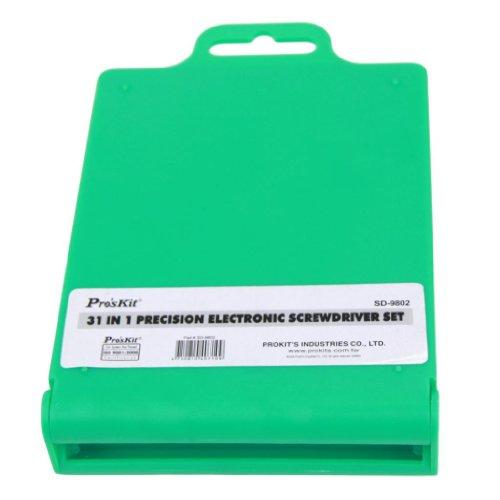 Pro'skit SD-9802 31 IN 1 Precision Electronic Screwdriver Set