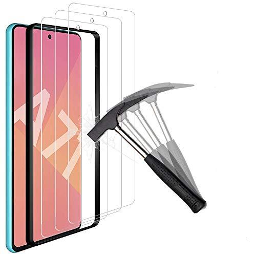 ANEWSIR 3X Vetro Pellicola Protettiva per Samsung Galaxy A71 Vetro Temperato, Samsung Galaxy A71 Protezione Schermo Vetro Temperato [Durezza 9H], Screen Protector HD Alta Trasparenza