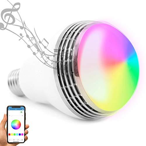Autai LED Light Bulb with Smart Bluetooth Speaker and APP...