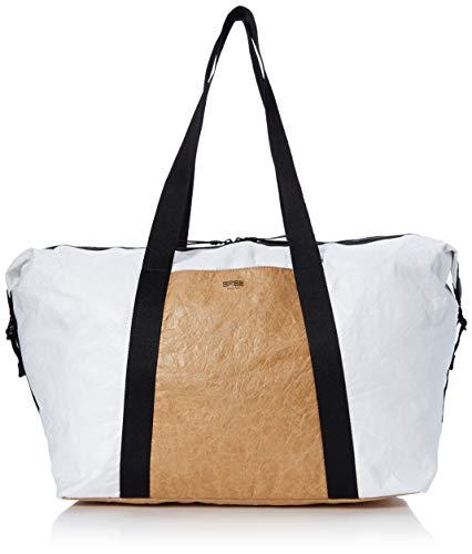 BREE Damen Vary 7 Umhängetasche, Weiß (White), 23x42x50 cm