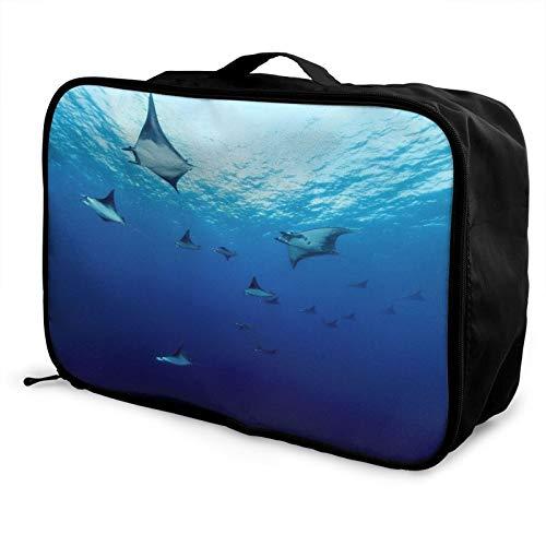Ocean Deep Sea Moblare Bolsa de viaje impermeable moda ligera gran capacidad portátil equipaje bolsas