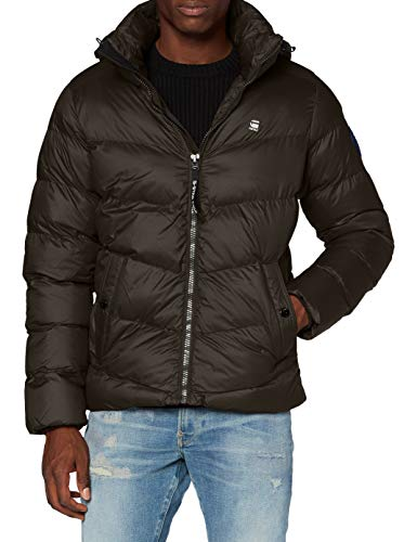 G-STAR RAW Herren Jacket Whistler hdd puffer', Asfalt B958-995, Large