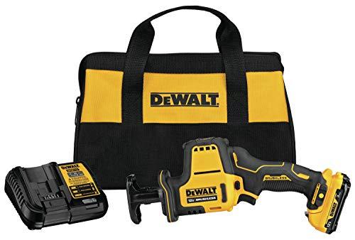 DEWALT DCS312G1 XTREME 12V MAX Brushless One-Handed Cordless Reciprocating Saw Kit