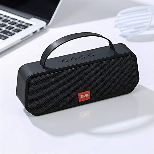 Kaper Go Schwarz Bluetooth 5.0 drahtlose Bluetooth-Lautsprecher tragbare Stereo-Lautsprecher Außenlautsprecherunterstützungs-TF-Karte FM-Freisprecheinrichtung
