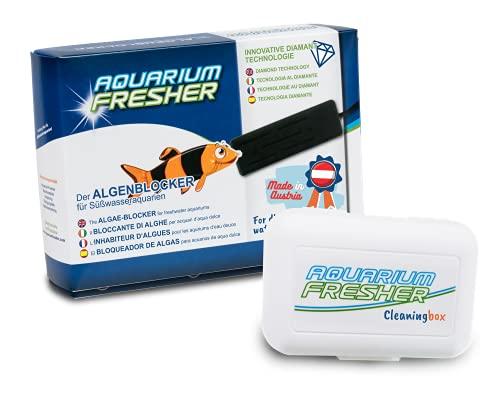 AquariumFresher für Aquarien bis 200L inkl. Cleaningbox | Vorteilspack | bekämpft Algen | Algenvernichter & Algenentferner