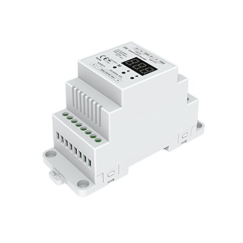 DMX512 to SPI Converter DMX Decoder SPI Controller Compatible with kinds of Digital IC LED Strip Pixel Strip Light