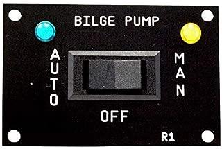 AQUALARM Bilge Pump 3 Way Switch, works with 12v, 24v, 32v