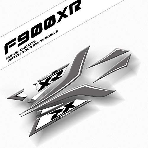 Motocicleta 3D Gel Pegatina de carga trasera Pegatina de asiento trasero Gel Edge Pintura Pegatinas para BMW F900XR 2020 F900 XR Accesorio Pegatinas (Color : 2)