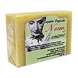 Jabón de Neem - método de elaboración artesanal en frío - Aceite de Neem y Aceite de Coco 100% natural - receta tradicional original
