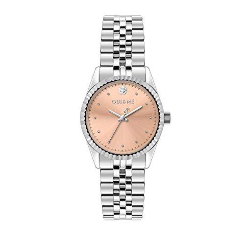 Oui & Me Reloj Mujer, Colección Coquette, Solo Tiempo, 3H, Caja 30mm - ME010283