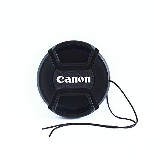 Tapa Delantera 52mm con cordón y Pinza Central para Objetivo Canon