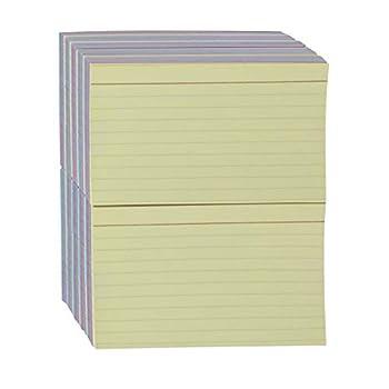 Amazon Basics Ruled Color Index Cards 3  x 5  1,000 Cards