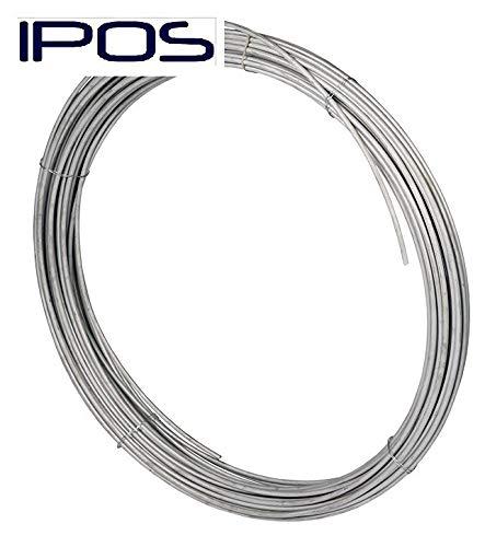 IPOS-Erdungsband Edelstahl V4A Blitzschutz Rundleiter Ø 10mm, 25 kg / 40Meter