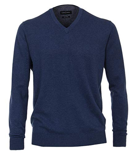 CASAMODA Pullover suéter, Azul, Medium (Talla del Fabricante:) para Hombre
