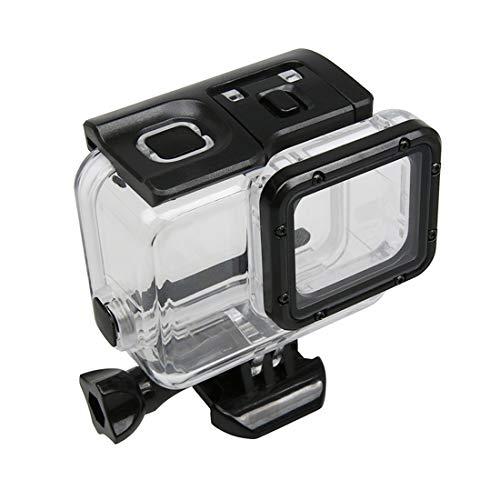 For la caja protectora impermeable Vivienda GoPro HERO NUEVO / HERO6 / 5 pantalla táctil de 45 m con la hebilla de montaje básico y tornillo, hay necesidad de quitar la lente Calidad sin preocupacione