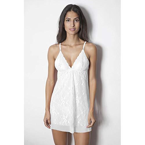 Camisola Com Biju - Maiorca - Branco - 147.30 - Tamanho Médio