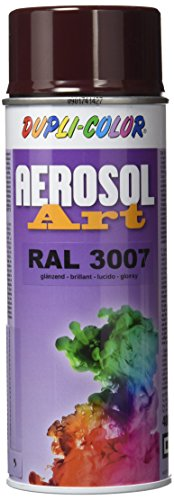 DUPLI-COLOR 741111 Aerosol Art Sprühdosen 400 ml, Ral 3007 Glanz