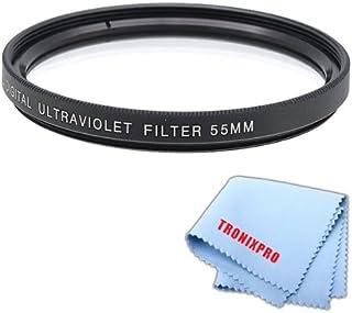 55mm PROシリーズmulti-coated高解像度デジタル紫外線フィルターfor Pentax HD pentax-da 55–300mm f / 4–5.8Ed Wrレンズ、Pentax HD PENTAX DA 20–40mm f / 2.8–4Ed Limited DC WRレンズ(ブラック)