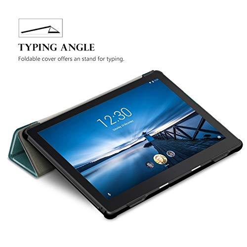 "TTVie Case for Lenovo Tab E10, Ultra Slim Lightweight Smart Shell Stand Cover for Lenovo Tab E10 10.1"" Tablet 2018 Release, Apricot Blossom"