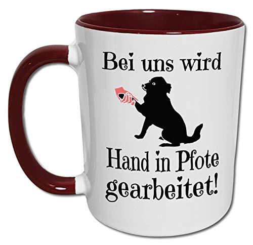 Hunde Tasse mit Spruch, Geschenk Hundebesitzer, Hundehalter, Hundetrainer, Hundeschule, Hundesport, Hundeerziehung