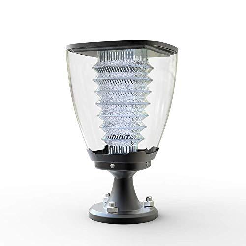 WORHAN® Solar Beleuchtung 100 Lumen LED Gartenbeleuchtung Garten & Terrasse Decken Zaunbeleuchtung Solarbetriebene Lampe Solarlampen Wandleuchten Solarleuchte für Außen LS15S