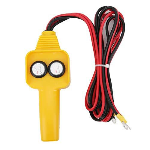 zhuolong Manija de Control de cabrestante con Cable de 12 V, Controlador con Cable de cabrestante Conjunto de Control Manual Estilo de botón para cabrestante 1500lbs-5000lbs